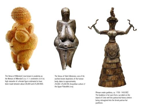 first-goddess-sculptures